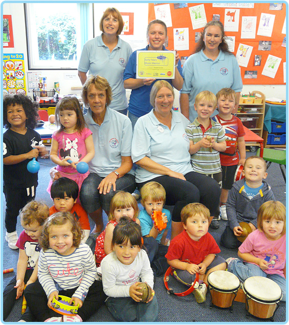 Early Years Music Mentors
